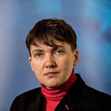 Nadija Savčenková v Praze