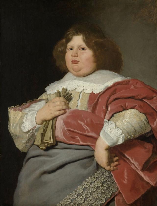 Portrét mladého muže, autor: Bartholomeus van der Helst, cca 1647-70