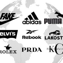 Ilustrační foto - Padělky, příklady padělaných značek parazitujících na známých brandech.