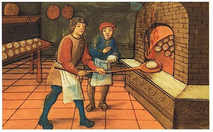 Chléb ve tvaru bochníku znal už středověk.