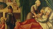 Porodní báby se ve středověku těšily úctě.