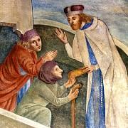 Obraz sv. Václava, Velká věž, hrad Karlštejn (národní kulturní památka),