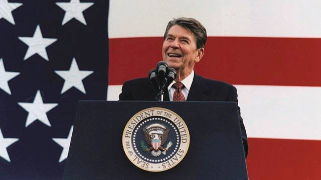 Ronald Reagan v roce 1982