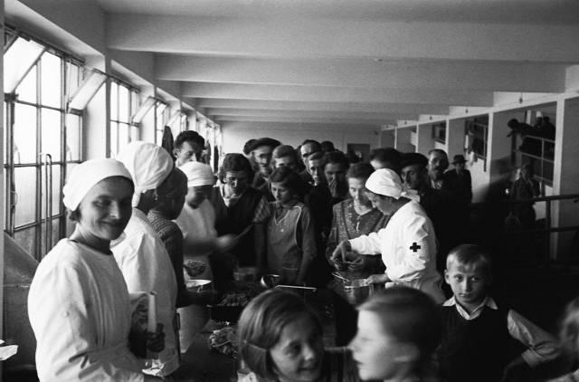 Sudetští uprchlíci v Praze