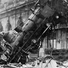 Ikonická fotografie slavné nehody