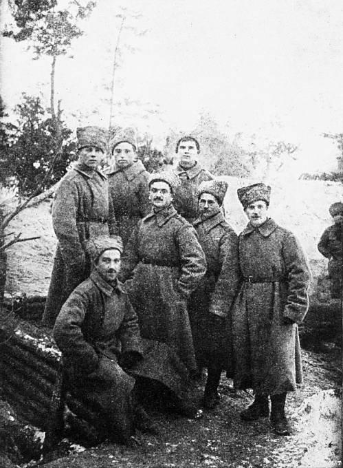 Legionáři sedmé roty, František Maxa uprostřed