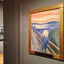 Obrazy norského malíře uchovává Munchovo muzeum v Oslu, Britské muzeum však nyní připravuje největší výstavu jeho litografií