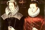 Marie Stuartovna a její syn Jakub