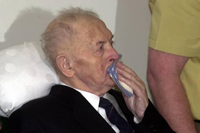 Anton Malloth v květnu 2001