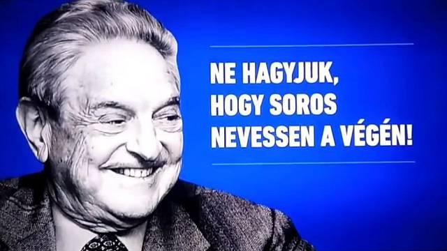 Maďarská vládní kampaň vyvolala židovské protesty