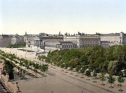 Budova předlitavského parlamentu ve Vídni