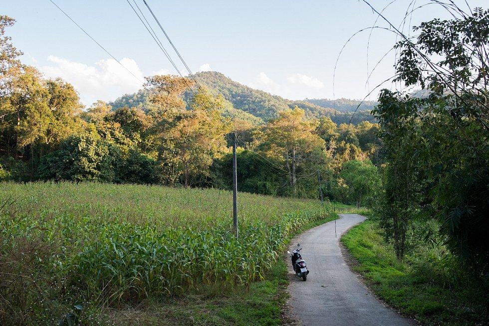 Krásná thajská příroda