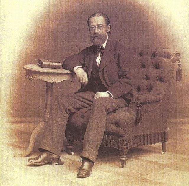 Jedna zposledních fotografií Bedřicha Smetany