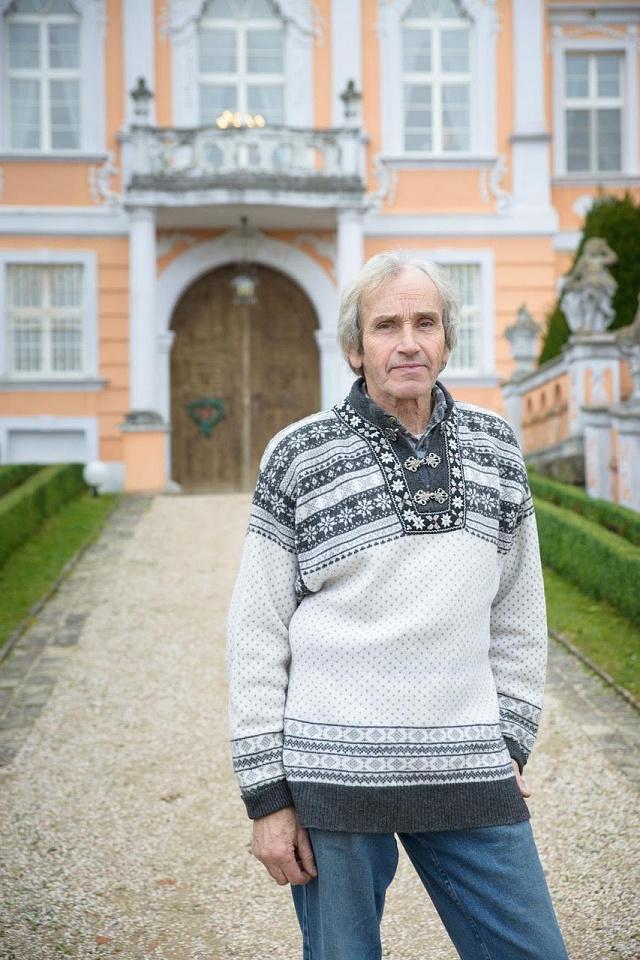 Petr Kučera, bývalý novinář a politik, dnes zámecký podnikatel