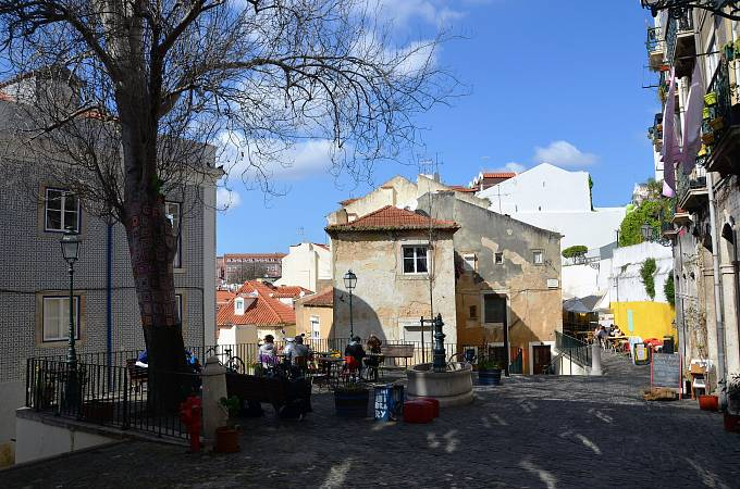 Historická čtvrť Alfama