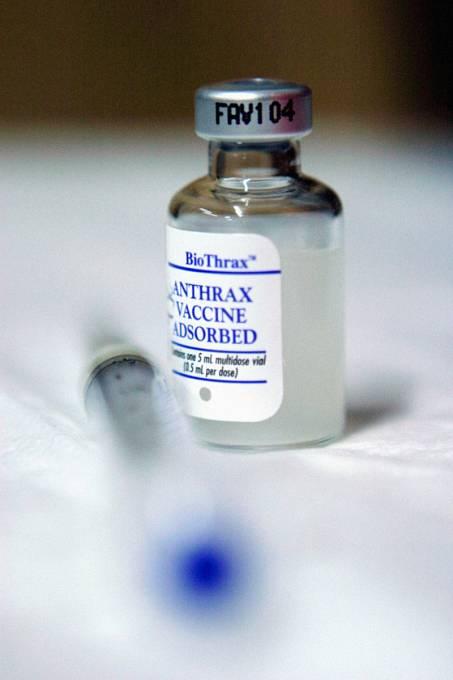 vakcína proti antraxu