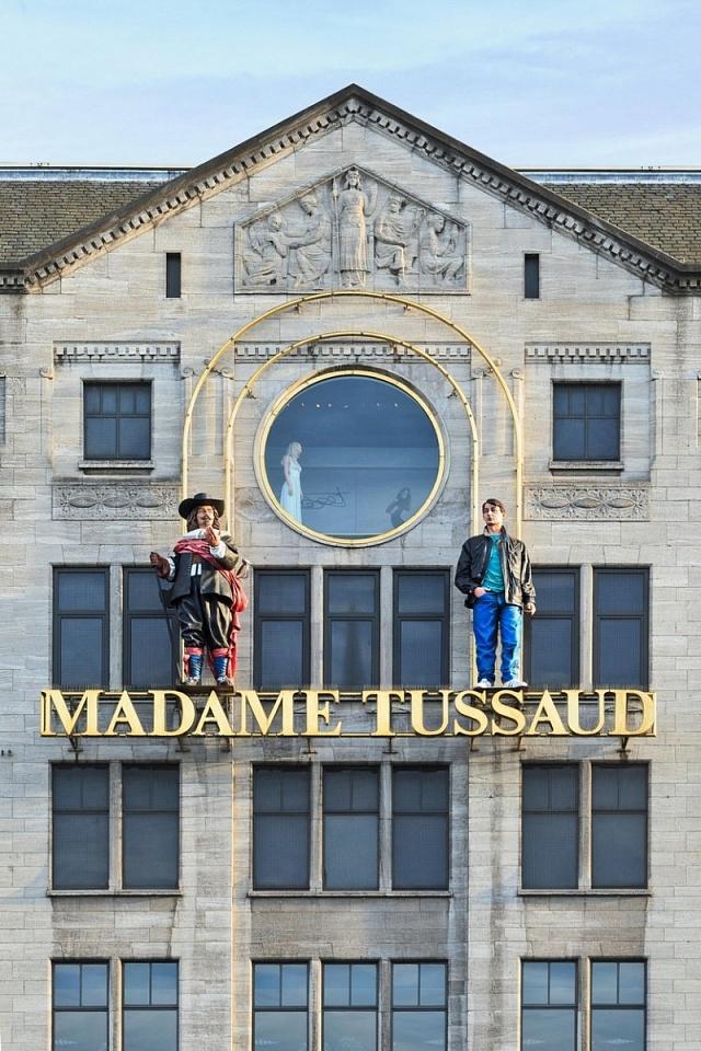Jedno ze sítě muzeí voskových figurín madam Tussaud