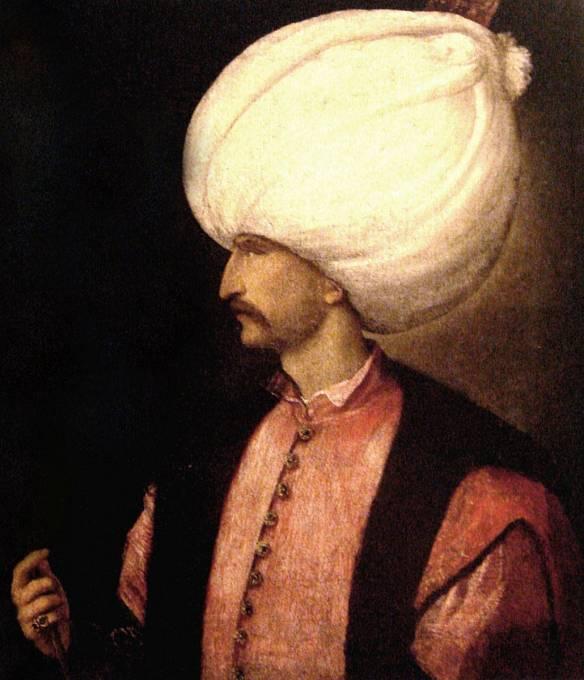 Turky v bitvě vedl sultán Sulejman I.