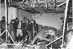 Konferenční místnost po výbuchu