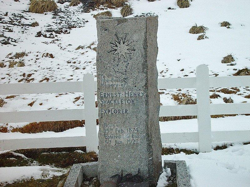 Shackletonův hrob