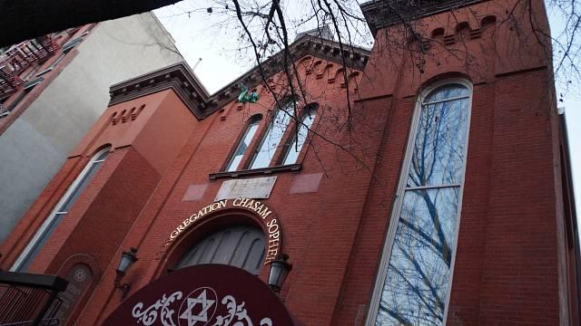 Jedna ze synagog v New Yorku
