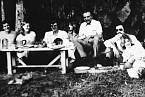 Josef Mengele na pikniku v Sao Paolu