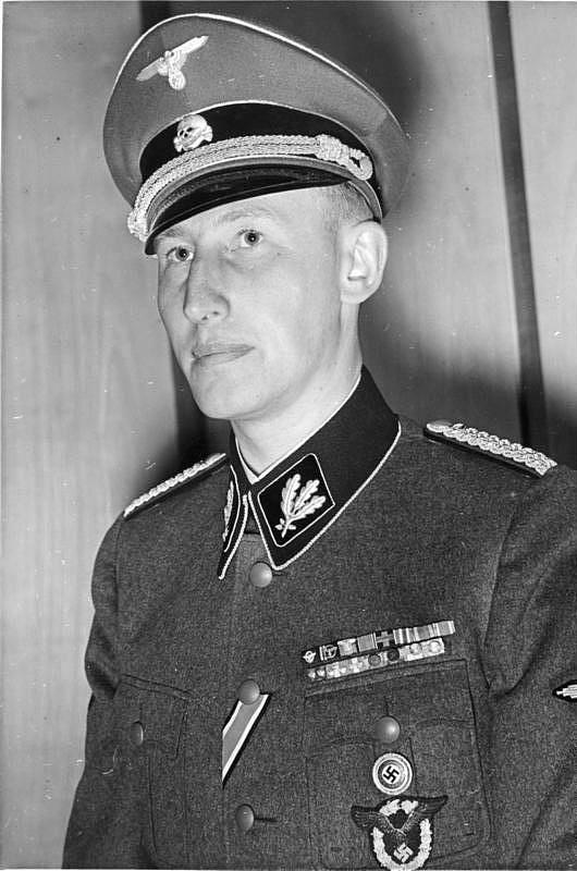 Cílem operace Anthropoid byl Reinhard Heydrich