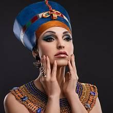 Egyptské ženy se bez make-upu neobešly
