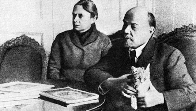 Vladimír Iljič Lenin a Inessa Armandová