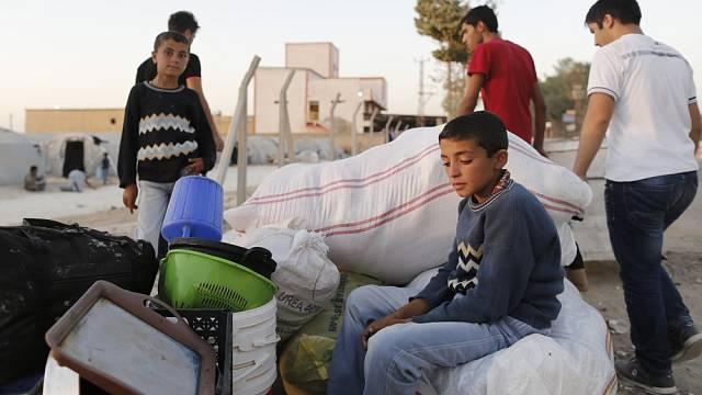 Turecké uprchlické tábory jsou nejčastějším útočištěm pro Syřany, kteří zemi opouštějí kvůli nekonečnému válečnému konfliktu.