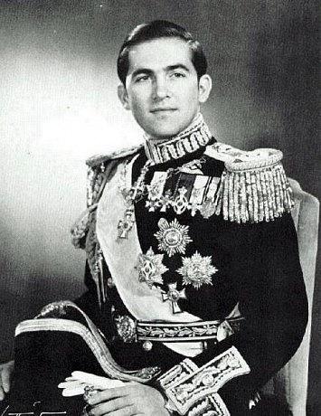 Řecký král Konstantin II. vroce 1940