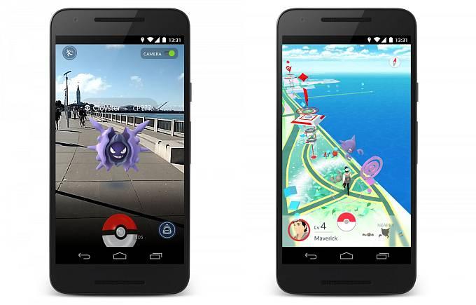 Nový herní hit Pokémon Go