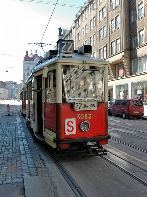 Tramvaj vyrobená v ČKD