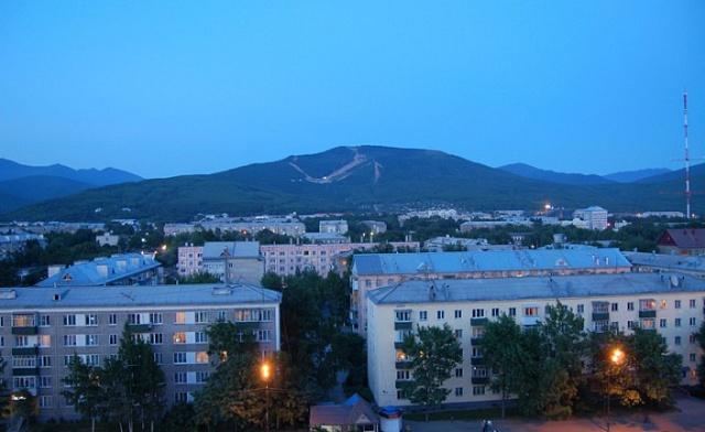 Južno-Sakhalinsk, metropole ostrova Sachalin.