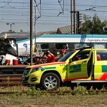 Nehoda pendolina u Studénky.