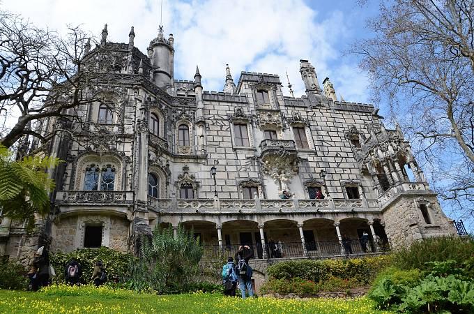 Neprávem opomíjený areál paláce Quinta da Regaleira