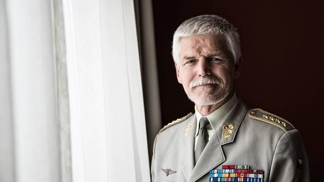 Armádní generál Petr Pavel je šéfem Vojenského výboru NATO.