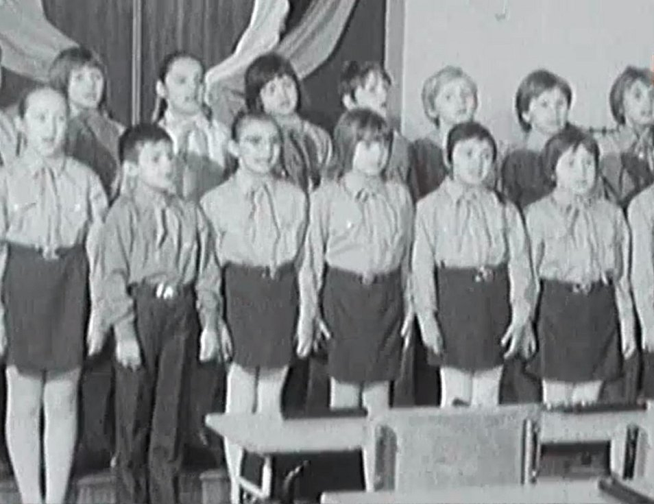 Členové pionýrské organizace
