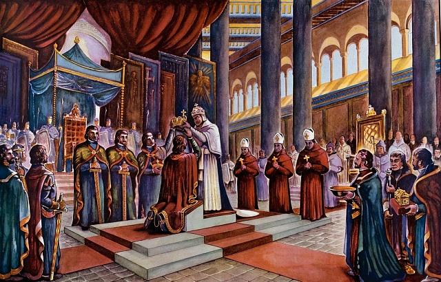 Korunovace Oty I. Velikého císařem
