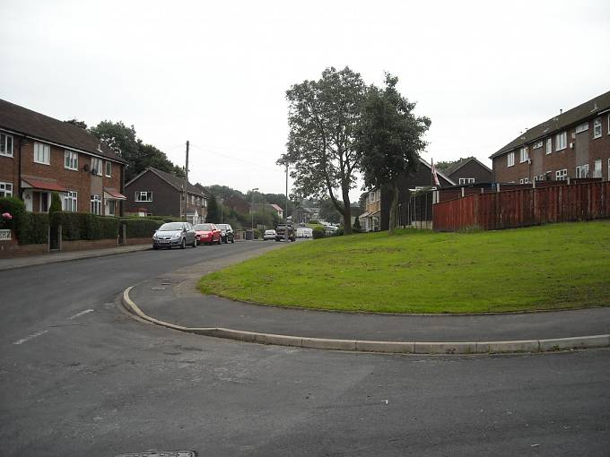 Dům naWardle Brook Avenue v Cheshire, kde došlo k poslední vraždě