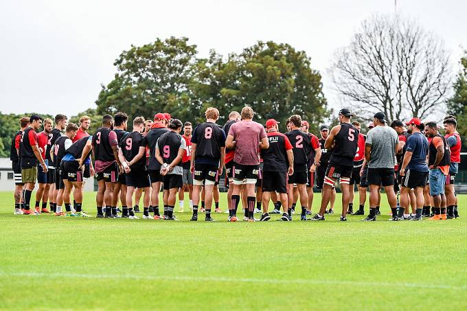 Nejúspěšnější tým Super Rugby Canterburští Křižáci