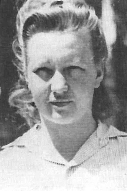 """Dorothea Binz si vysloužila přezdívku """"Plavovlasá mrcha"""""""