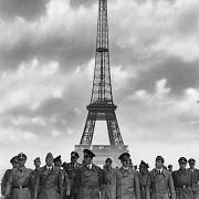 Hitler v dobyté Paříži