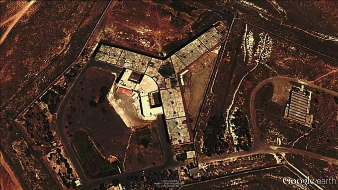 Obávaná věznice Saydnaya v Sýrii