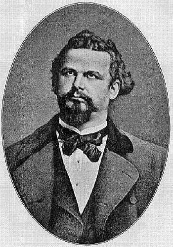 Ludvík II. Bavorský ke konci svého života