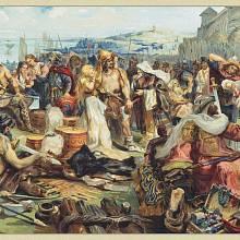 Trh s otroky v raném středověku
