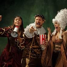 Ve středověku se lidé bavili stejně rádi, jako dnes. Některé druhy zábavy byly stejně návykové, jako nebezpečné