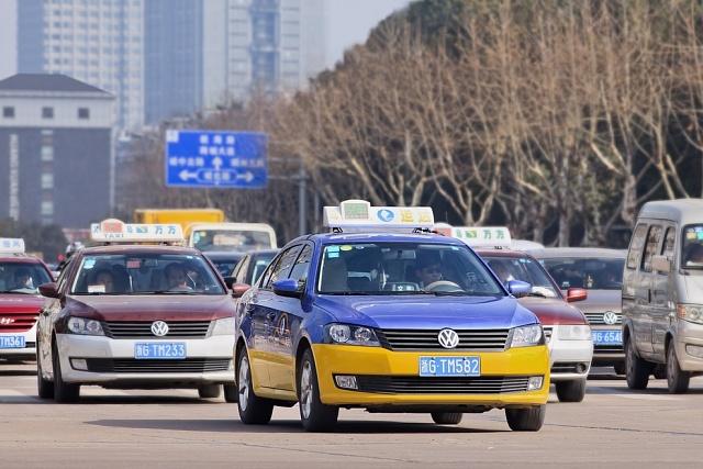 Vozy VW si v Číně oblíbili také taxikáři.