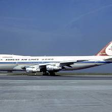 Letadlo korejských aerolinek ještě před osudným letem KAL 007