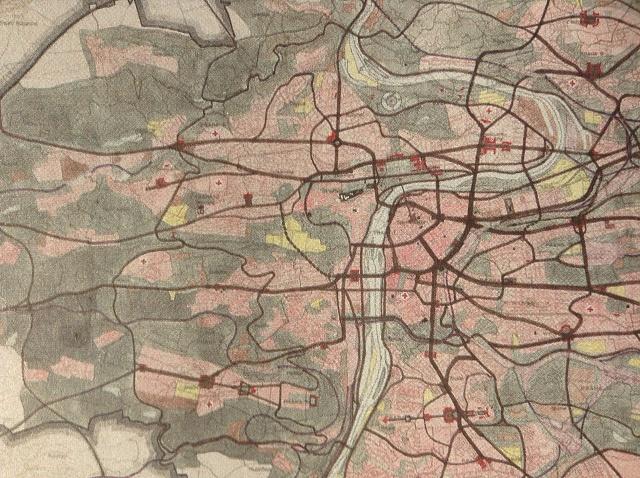 Směrný územní plán zroku 1953zahájil éru preference dopravy vPraze